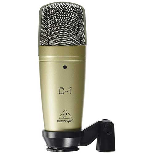 Best Vocal Condenser Mics Under 200 8. Behringer C-1 Professional Large-Diaphragm Studio Condenser Microphone
