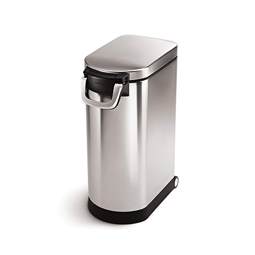 Best Dog Food Storage Container 4. Simplehuman Large Pet Food Storage Can