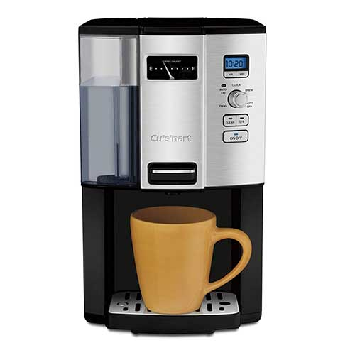 Best Fully Automatic Coffee Machines 5. Cuisinart DCC-3000 Coffee-on-Demand 12-Cup Programmable Coffeemaker