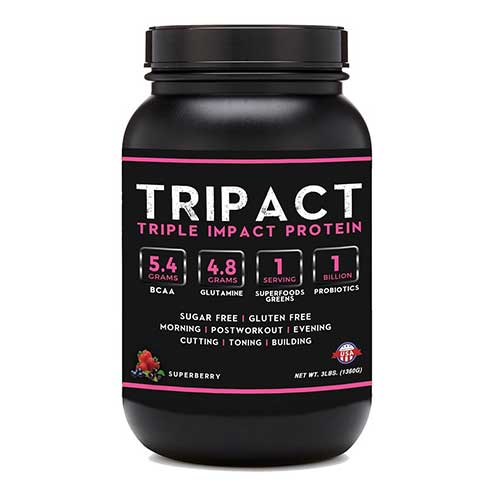 Best Organic Grass Fed Whey Protein Concentrate 5. Tripact Protein - Grass Fed Whey Protein