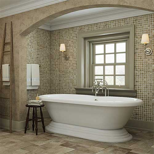 2. Luxury 60 inch Freestanding Tub