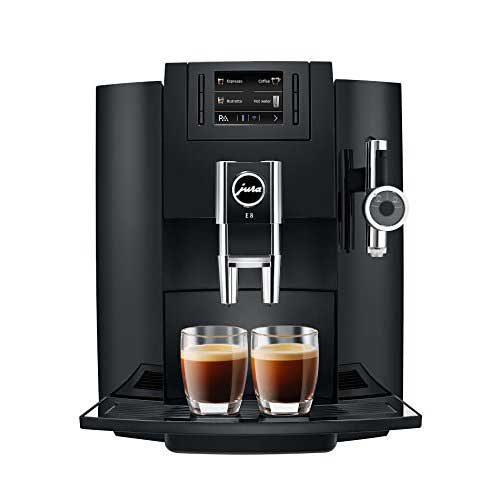 Best Fully Automatic Coffee Machines 9. Jura 15109 Automatic Coffee Machine E8