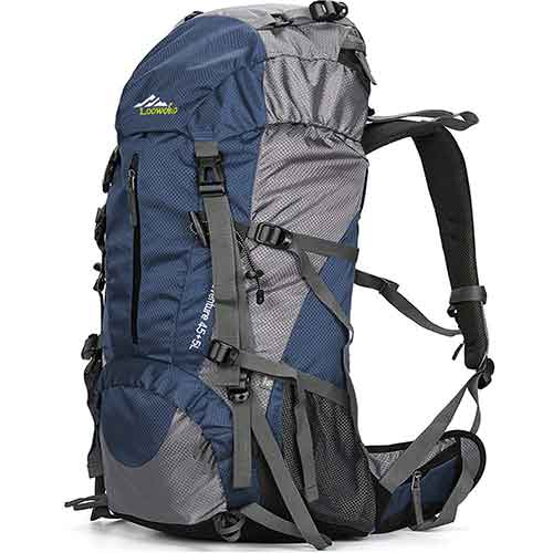 Best Hiking Backpack Under 100 7. Loowoko Hiking Backpack