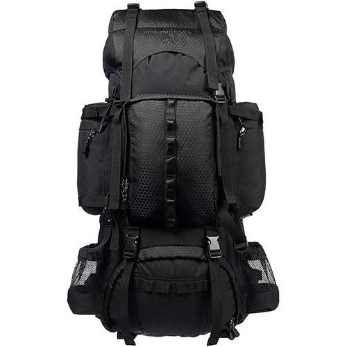 Best Hiking Backpack Under 100 3. AmazonBasics Internal Frame Hiking Backpack