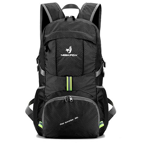 Best Hiking Backpack Under 100 9. NEEKFOX Lightweight Packable Travel Hiking Backpack