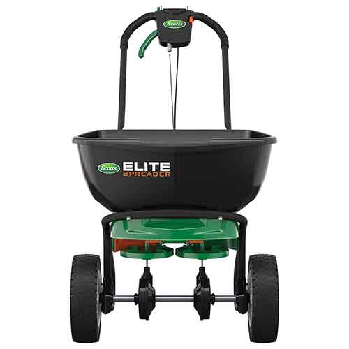 Best Commercial Walk Behind Salt Spreaders 2. Scotts Elite Broadcast Spreader with EdgeGuard