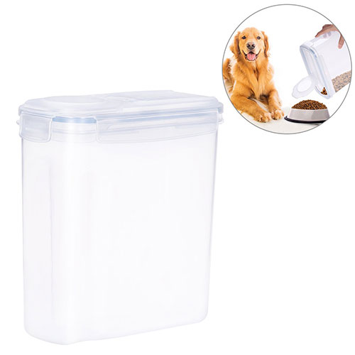 Best Dog Food Storage Container 7. UEETEK 4L Pet Dog Food Storage Container