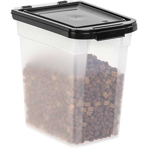Best Dog Food Storage Container 10. Iris USA INC 300555 10 Lb Airtight Pet Food Storage Container