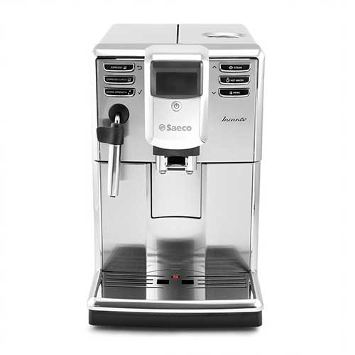 Best Fully Automatic Coffee Machines 3. Saeco Incanto Plus Super-Automatic Espresso Machine w/Built-In Grinder - HD8911/67