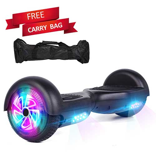 Best Hoverboards for Kids 1. Sea Eagle Hoverboard Self Balancing Scooter Hover Board for Kids Adults with UL2272 Certified,Wheels LED Lights and Portable Carrying Bag