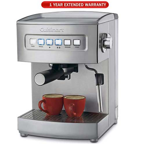 Best Fully Automatic Coffee Machines 10. Cuisinart EM-200 Programmable Espresso Maker