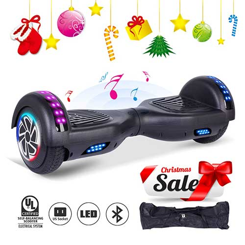 Best Hoverboards for Kids 7. SENGYUE Hoverboard UL2272 Certified Two 6.5