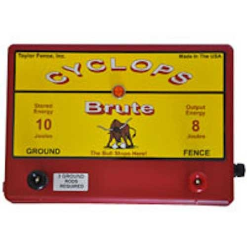 10. Cyclops Brute - 8 Joule Fence Charger – AC