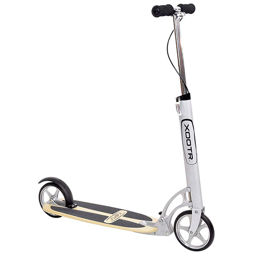 6. Xootr Adult Kick Scooter - New QuickClick Latch Folding Mechanism – Cruz model