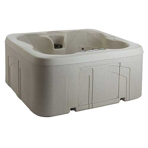Best plug and play Hot Tubs 8. Lifesmart Rock Solid Simplicity Plug and Play 4 Person Hot Tub Spa With 13 Jets