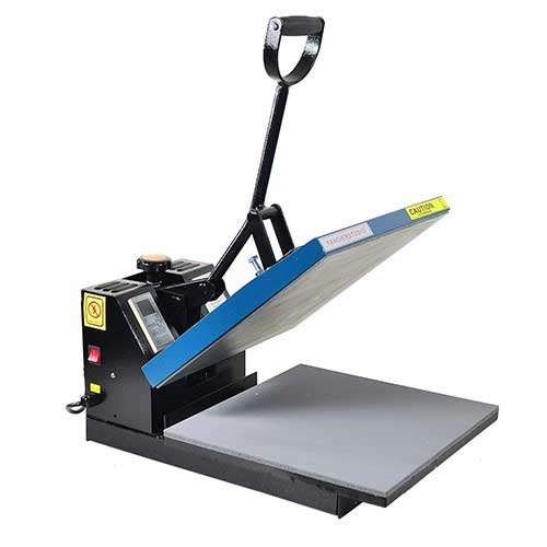 3. Fancierstudio Power Heat press Digital Heat Press 15 x 15 Sublimation Heat Press