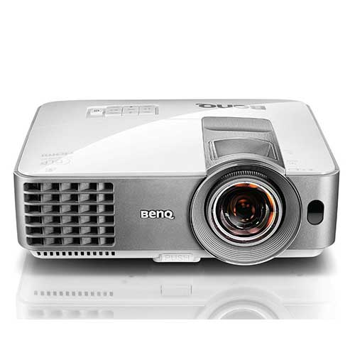 "1. BenQ MW632ST Short Throw DLP Projector, 3200 Lumens, WXGA 1280x800, 3D, HDMI, 10W Speaker,100"" @ 5.09ft, Keystone, 1.2X Zoom"