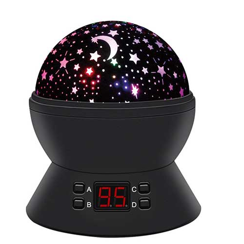 Best Baby Star projectors 1. Star Sky Night Lamp,ANTEQI Baby Lights 360 Degree Romantic Room Rotating Cosmos Star