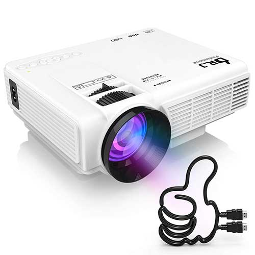 Top 10 Best Video Projectors Under 100 in 2020 Reviews