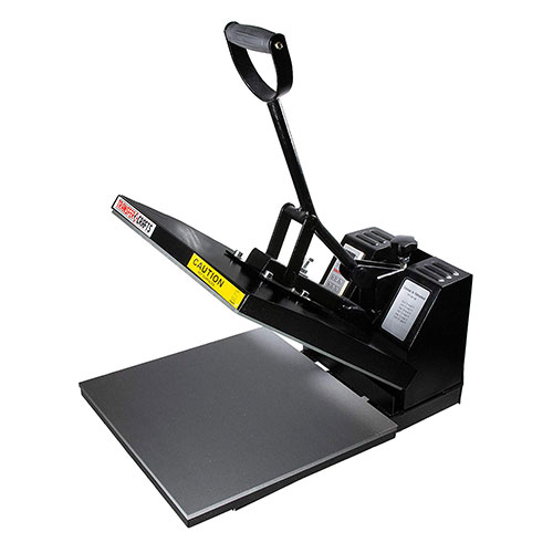 5. Transfer Crafts T-Shirt Heat Press & Digital Sublimation Machine (15 x 15)