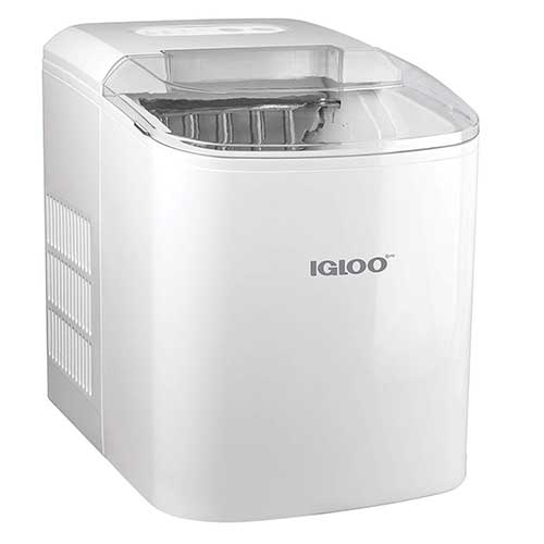 Best Residential Ice Makers 8. Igloo ICEB26WH 26-Pound Automatic Portable Countertop Ice Maker Machine - White