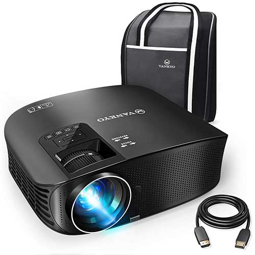 5. VANKYO Leisure 510 Full HD Projector with 3600 Lux, Video with Free HDMI Cable and Carrying Bag