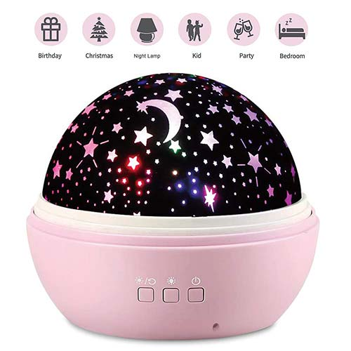 Best Night Lights for Baby 3. 2018 NEWEST Baby Night Light, AnanBros Remote Control Star Projector