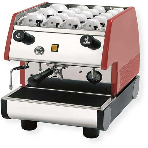 Best Commercial Super Automatic Espresso Machines 1. La Pavoni PUB 1EM-R - 1 Group Commercial Espresso Cappuccino machine, pour-in. Red