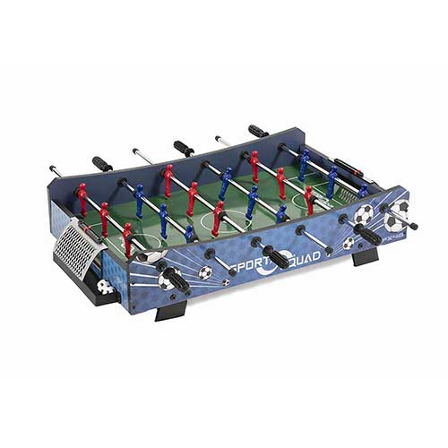 9. Sport Squad FX40 40-inch Compact Mini Tabletop Foosball Table