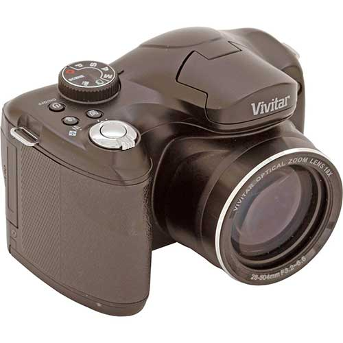 Best Bridge Cameras Under $200 8. Vivitar ViviCam S1527 16.1MP Digital Bridge Camera with 18x Optical Zoom