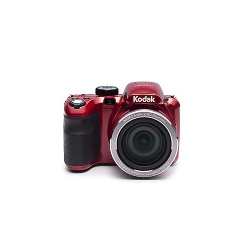 Best Bridge Cameras Under $200 2. Kodak PIXPRO Astro Zoom AZ421-RD 16MP Digital Camera with 42X Optical Zoom and 3