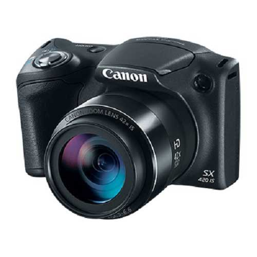 Best Bridge Cameras Under $200 9. Canon PowerShot SX420 Digital Camera w/42x Optical Zoom - Wi-Fi & NFC Enabled (Black)