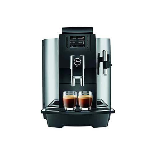 Best Commercial Super Automatic Espresso Machines 4. Jura 15145 Automatic Coffee Machine WE8, Chrome