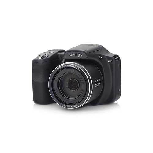 Best Bridge Cameras Under $200 3. Minolta 20 Mega Pixels High Wi-Fi Digital Camera with 35x Optical Zoom, 1080p HD Video & 3
