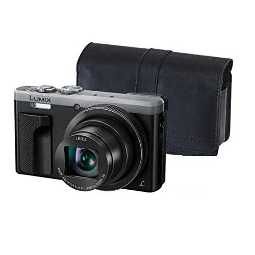 Best Bridge Cameras Under $200 1. Panasonic LUMIX 4K ZS60 Point and Shoot Camera, 30X LEICA DC Vario-ELMAR Lens F3.3-6.4, 18 Mp, DMC-ZS60S with inCASEin
