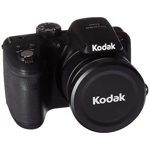 Best Bridge Cameras Under $200 5. Kodak PIXPRO Astro Zoom AZ401-BK 16MP Digital Camera with 40X Optical Zoom and 3