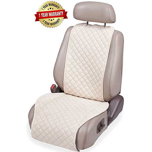 Best Car Seat Covers for Leather Seats 7. IVICY Car Seat Cover Protector Cushion - Car Seat Protector - Car Seat Cushion - 1-pc
