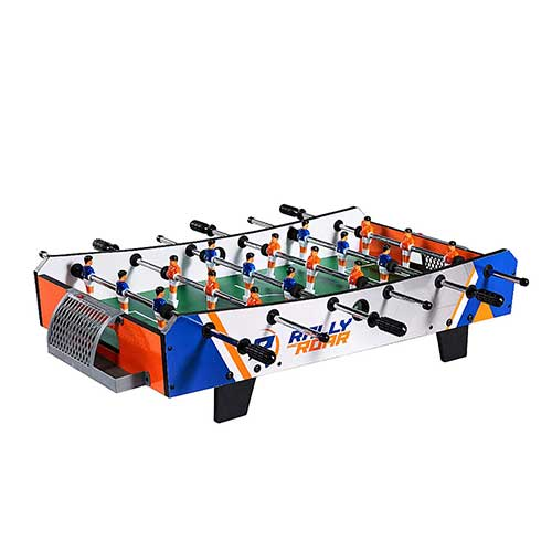 8. Foosball Tabletop Games and Accessories, Mini Size - Fun, Portable for Adults, Kids by Rally and Roar