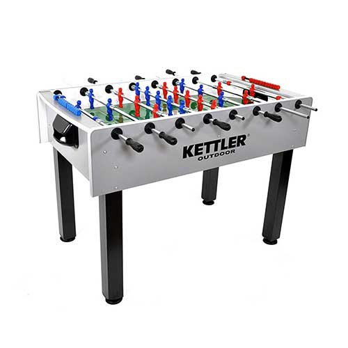 5. Kettler Carbon Outdoor Foosball Table