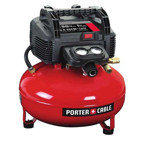 Best Home Air Compressors 1. PORTER-CABLE C2002 Oil-Free UMC Pancake Compressor
