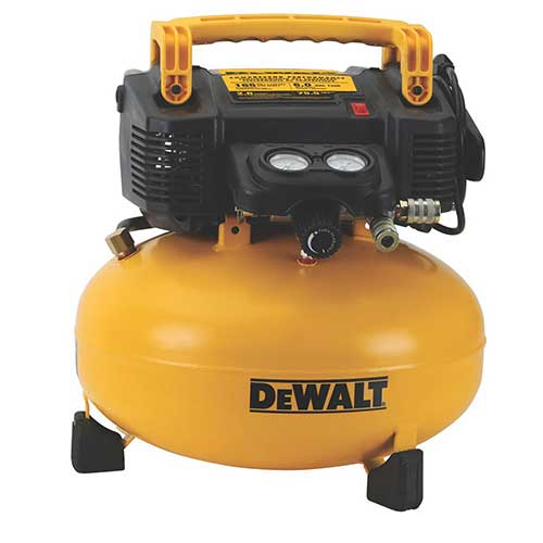 Best Home Air Compressors 6. DEWALT DWFP55126 6-Gallon 165 PSI Pancake Compressor