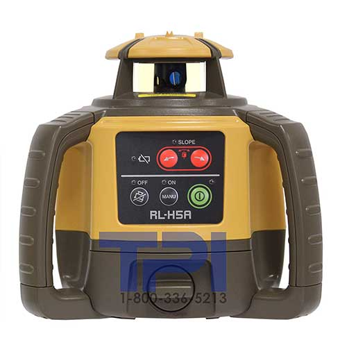 Best Laser Levels for Builders 8. Topcon RL-H5A Self-Leveling Rotary Grade Laser Level