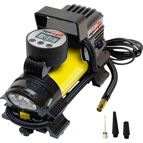 Best Home Air Compressors 10. EPAuto 12V DC Portable Air Compressor Pump, Digital Tire Inflator