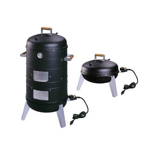 5. Southern Country 2 in 1 Electric Water Smoker & Grill