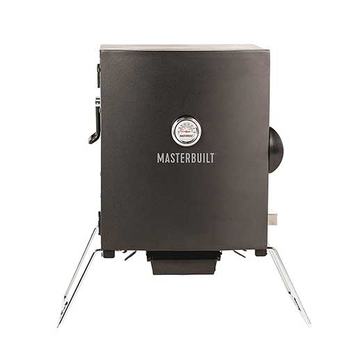6. Masterbuilt MB20073716 Patio-2-Portable Electric Smoker, Black