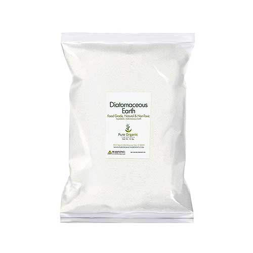 4. Diatomaceous Earth (10 lb.) by Pure Organic Ingredients, Food Grade
