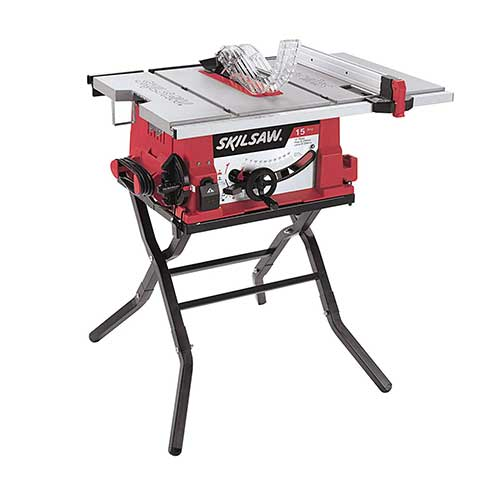 Best Table Saws for Woodworking 8. SKIL 3410-02 10-Inch Table Saw with Folding Stand