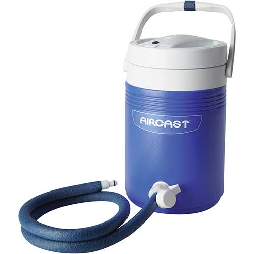 Best Ice Therapy Machines 6. DonJoy Aircast Cryo/Cuff Cold Therapy: Non-Motorized (Gravity-Fed) Cooler with Tube Assembly