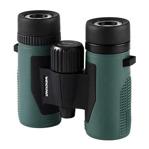 Best Compact Binoculars for Birding 1. Wingspan Optics NatureSport 8X32 Waterproof Compact Binoculars for Bird Watching. Ultra-Lightweight, Rugged and Durable. Pocket-Size Binoculars for the Nature Lover on the Go. Formerly Polaris Optics.