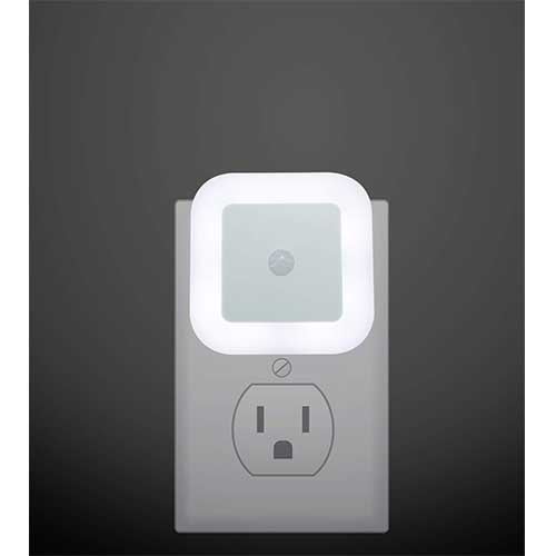 Best Motion Sensor Night Lights 10. Plug in LED Motion Sensor Light, Motion Activated Night Light, Perfect for Stairway, Bathroom and Hallway by iAVO